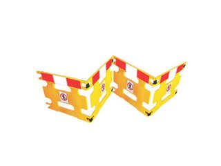 AddGards Handigard Safety Barriers - Red & White - Set of 4