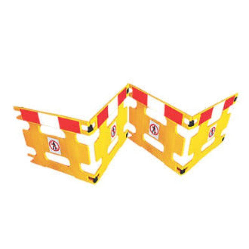 AddGards Handigard Safety Barriers - Red & White - Set of 4 /