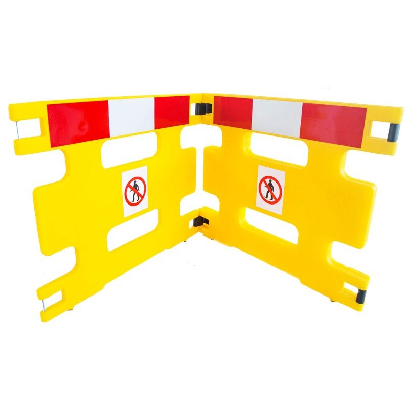 AddGards Handigard Safety Barriers - Red & White - Set of 2 /