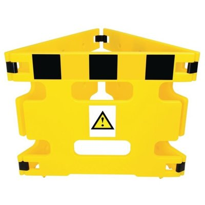 AddGards Handigard Safety Barriers - Black & Yellow - Set of 3