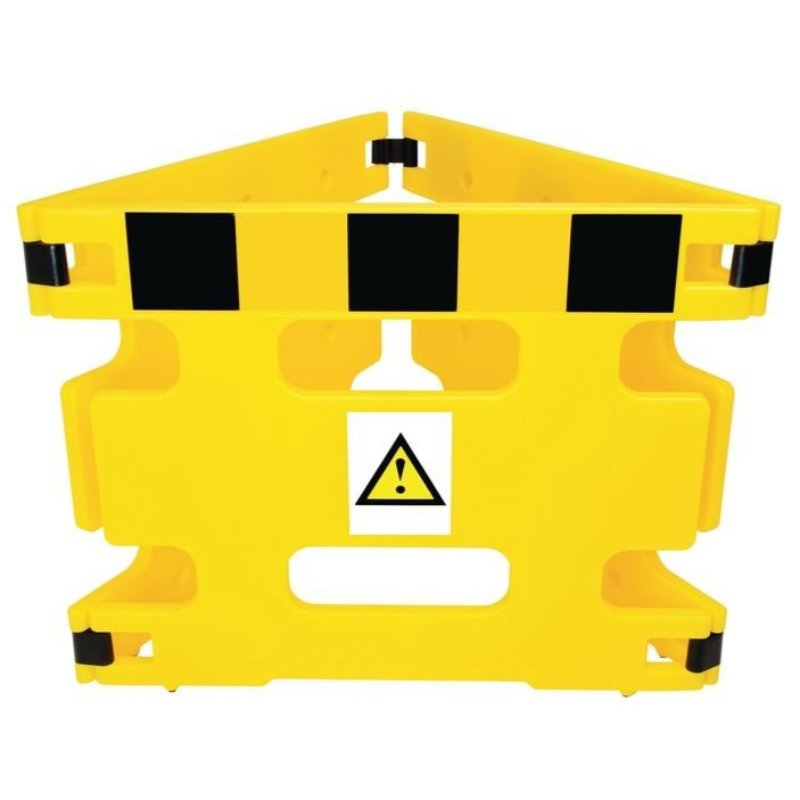 AddGards Handigard Safety Barriers - Black & Yellow - Set of 3 /