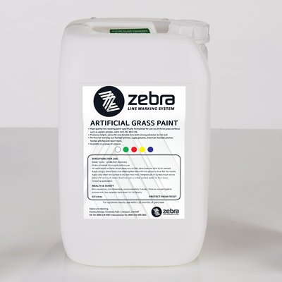 Zebra Artificial Grass Line Marking Paint