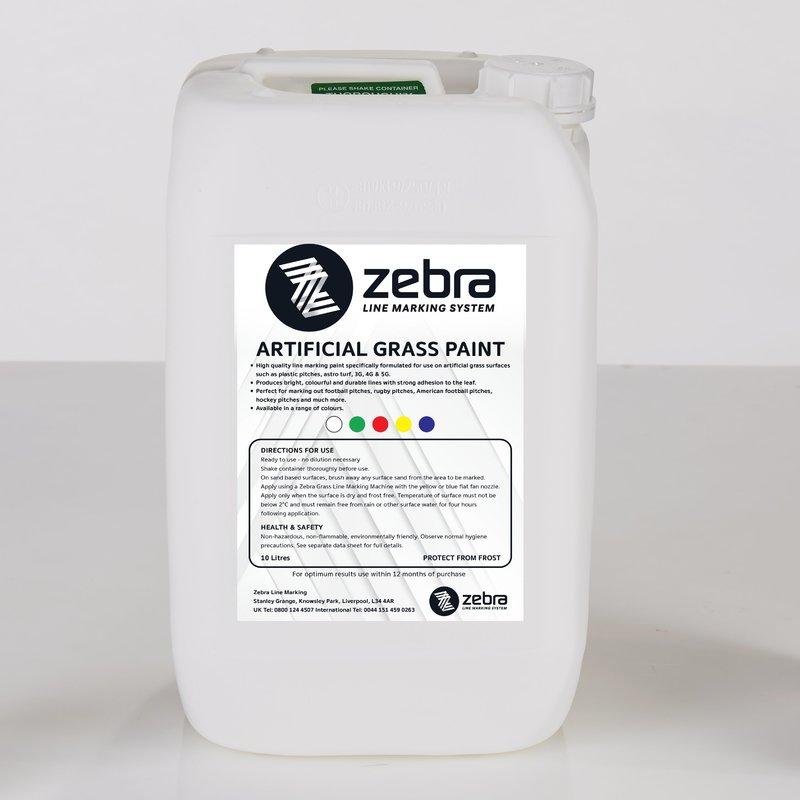 Zebra Artificial Grass Line Marking Paint /