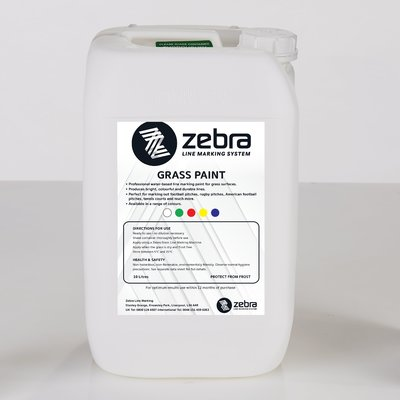 Zebra Grass Line Marking Paint