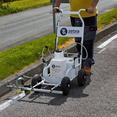 Zebra Pro Hard Surface Line Marking Bundle