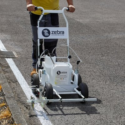 Zebra Pro Hard Surface Line Marking Machine