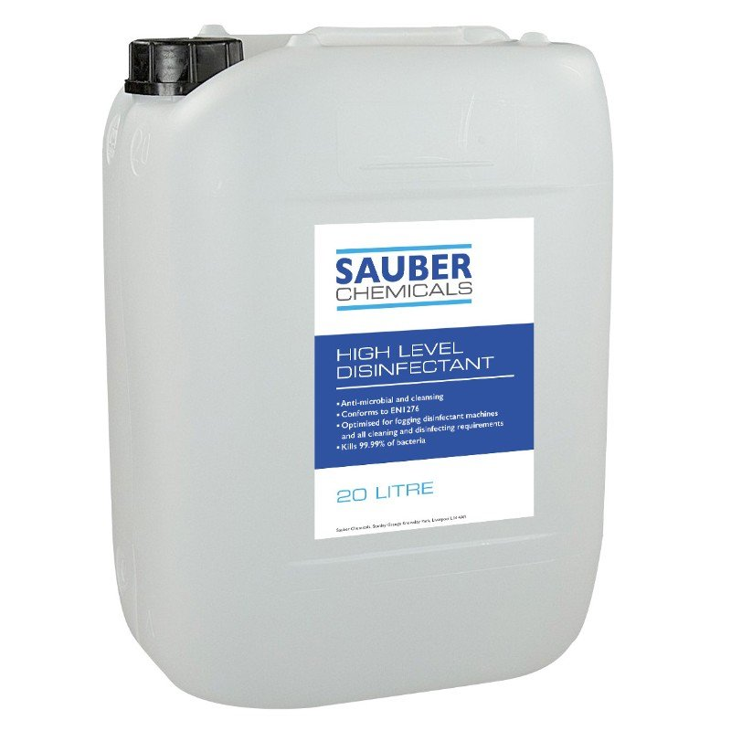Sauber Chemicals High Level Disinfectant (20L) /