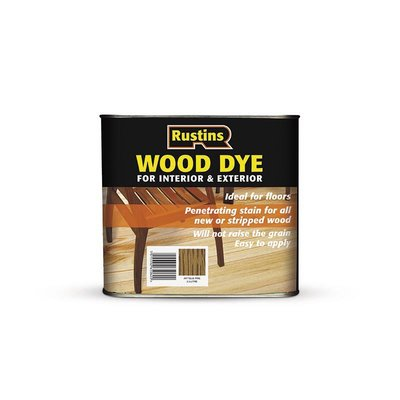 Rustins Wood Dye (Solvent Based) 2.5L