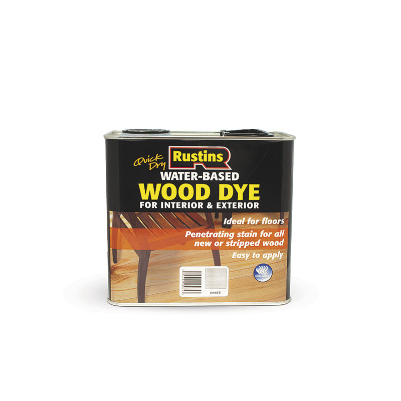 Rustins Quick Dry Wood Dye (Water Based) 2.5L /