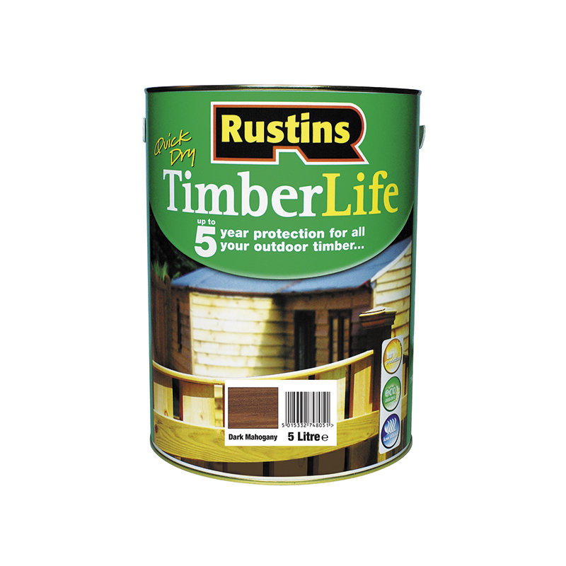 Rustins Quick Dry Timberlife 5L /