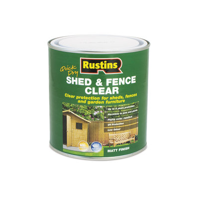 Rustins Quick Dry Shed & Fence Clear