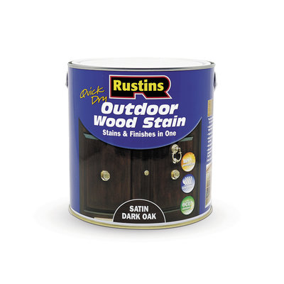 Rustins Quick Dry Outdoor Wood Stain 2.5L