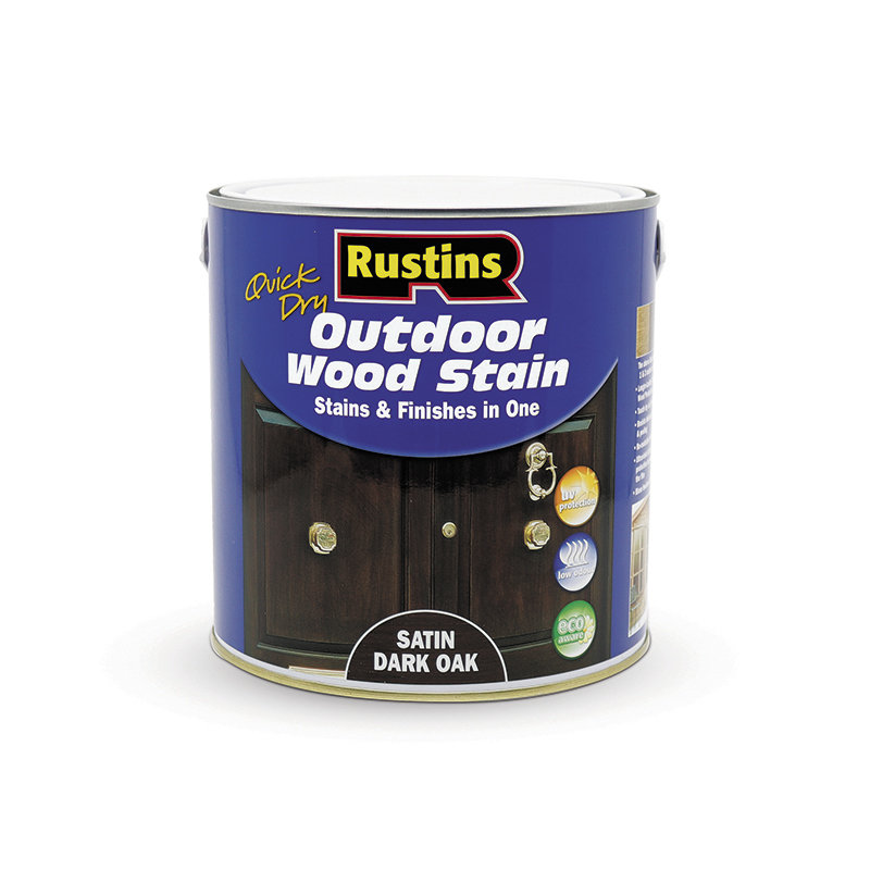 Rustins Quick Dry Outdoor Wood Stain 2.5L /