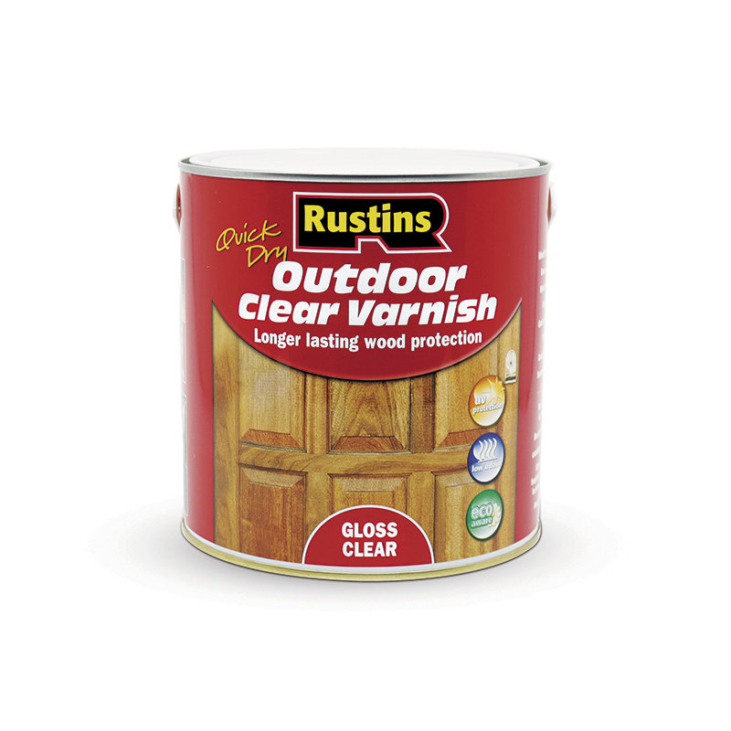 Rustins Quick Dry Outdoor Clear Varnish /