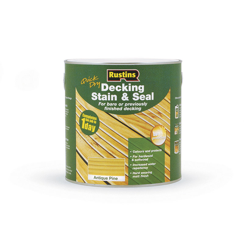 Rustins Quick Dry Decking Stain & Seal 2.5L /
