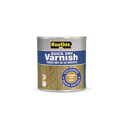 Rustins Quick Dry Coloured Varnish Satin