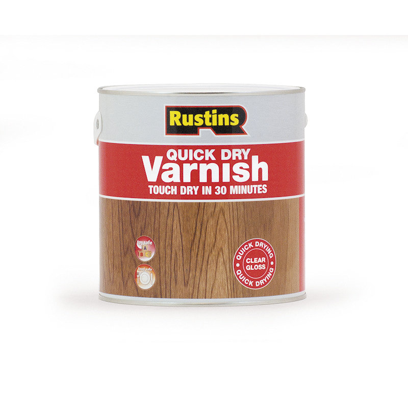 Rustins Quick Dry Clear Varnish /