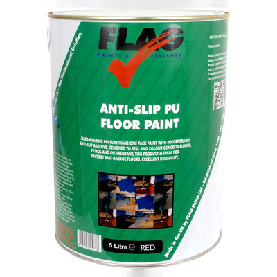 Flag Anti Slip PU Floor Paint 5L