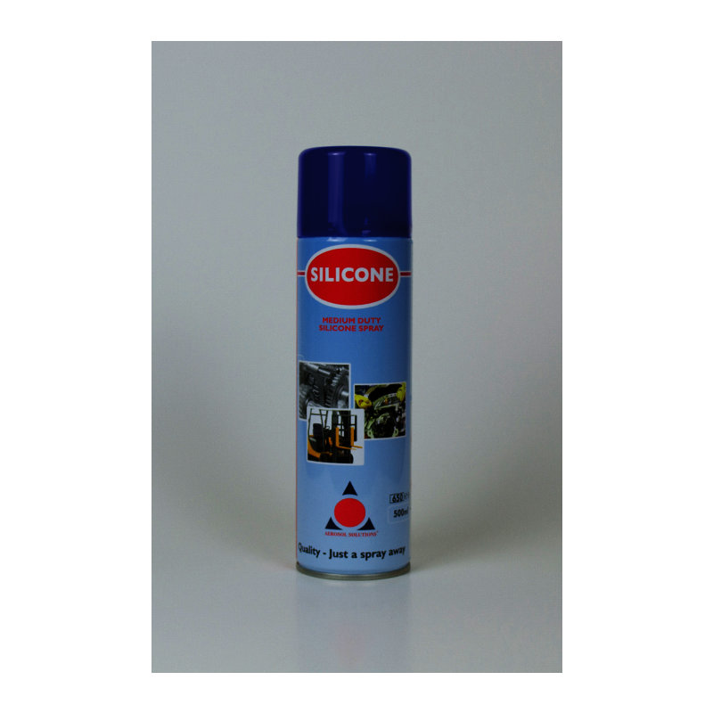 Premium Silicone Lubricant Spray (12 x 500ml Cans) /