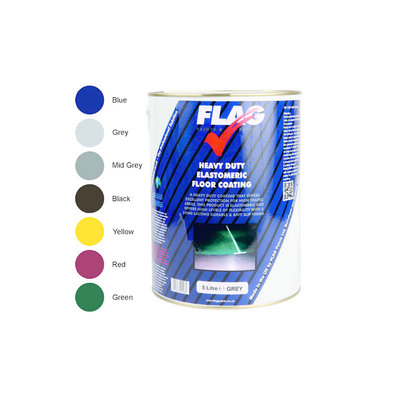 Flag Heavy Duty Elastomeric Floor Coating 5L