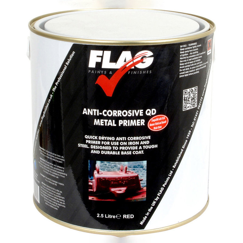 Flag Anti Corrosive Quick Dry Metal Primer /