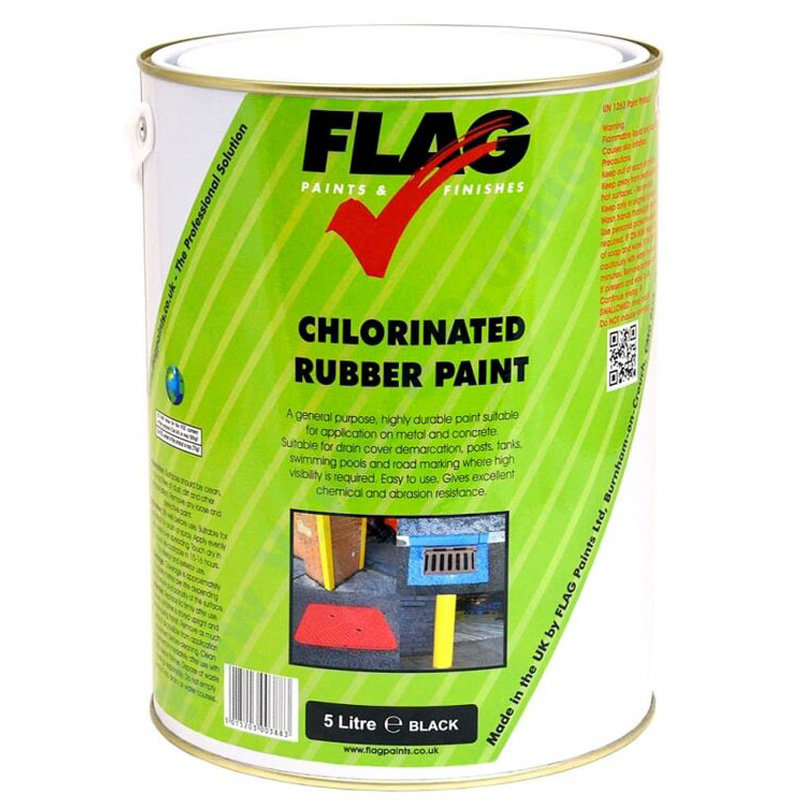 Flag Chlorinated Rubber Line Paint 5L /