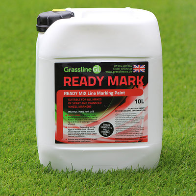 Grassline Ready Mark Line Marking Paint (3x10L)