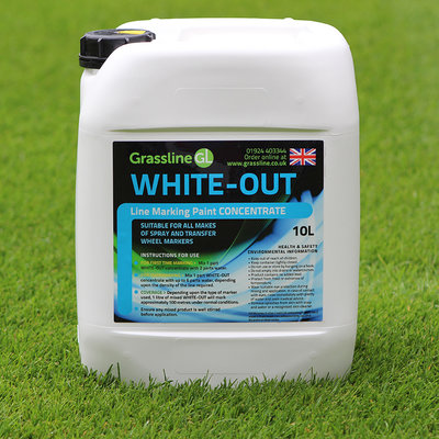 Grassline Whiteout Line Marking Paint Concentrate (3x10L)