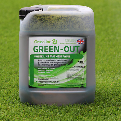 Grassline Green-Out White Line Masking Paint