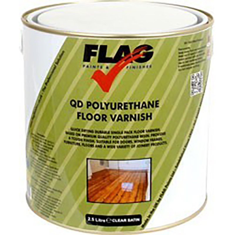 Flag Quick Drying Floor Varnish 2.5L /