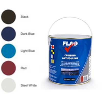 Flag Cruising Anti Fouling Paint 2.5L