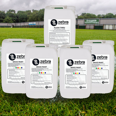 Zebra Grass Line Marking Paint Bundle