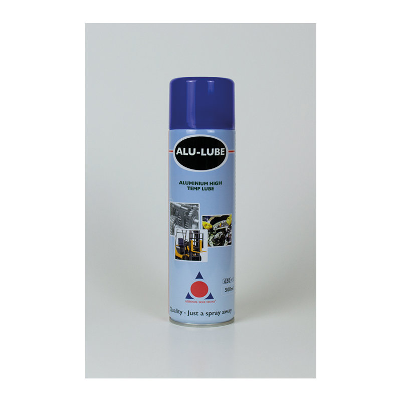Alu Lube Aluminium Anti-Seize Lubricant Spray (12x 500ml Cans) /