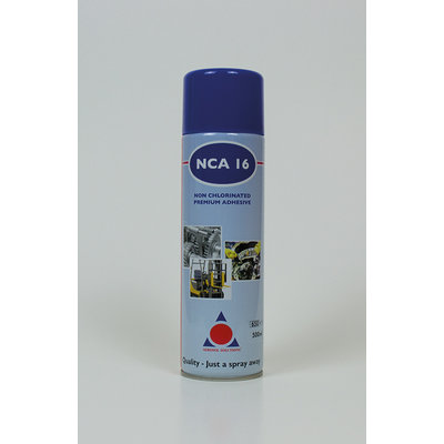 NCA16 Premium Non-Chlorinated Adhesive Spray (12x 500ml Cans)