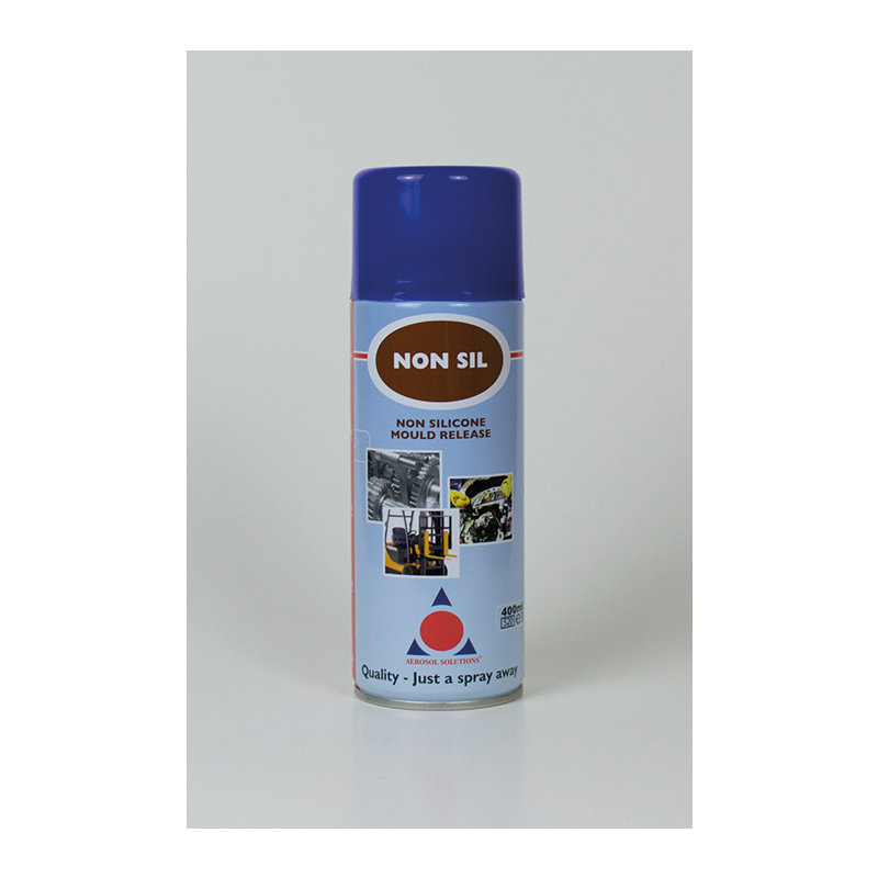 Non-Sil Non-Silicone Mould Release Lubricant Spray (12 x 400ml Cans) /