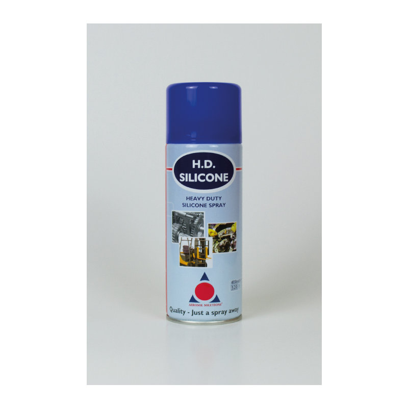 H.D Silicone Heavy-Duty Silicone Lubricant Spray (12 x 400ml Cans) /