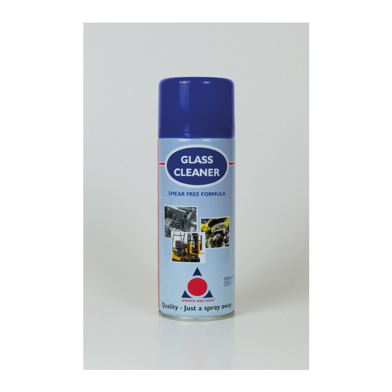 Premium Smear Free Glass Cleaner (12x 400ml Cans) /