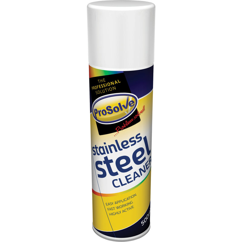 ProSolve Stainless Steel Cleaner Spray (12x 500ml Cans) /