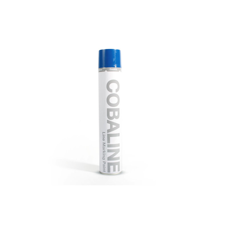 Cobaline Line Marker Paint (12 x 750ml Cans) Permanent /
