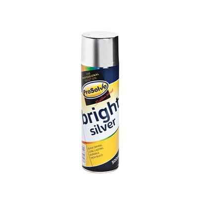 ProSolve Bright Silver Spray Paint