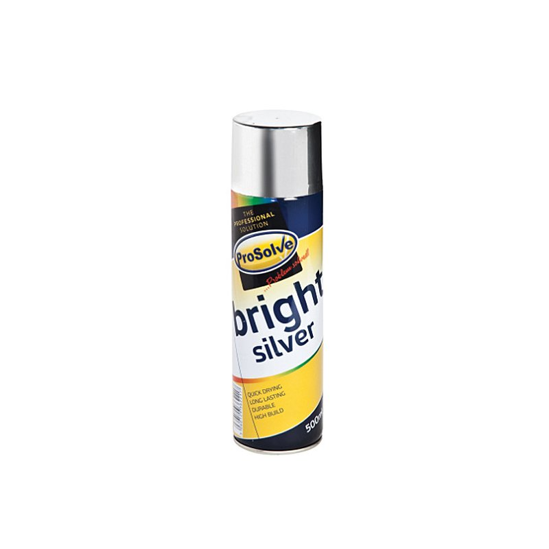 ProSolve Bright Silver Spray Paint /