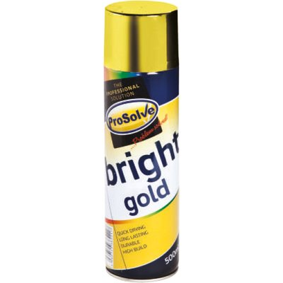 ProSolve Bright Gold Spray Paint