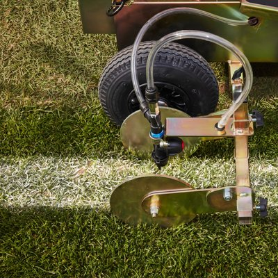 Zebra Eco Grass Line Marking Machine