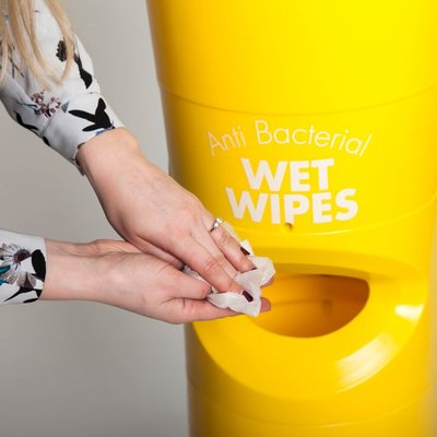 AddGards Freestanding Antibacterial Wet Wipe Dispenser